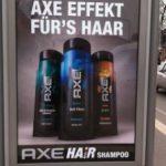 Der Axe Effekt für's Haar