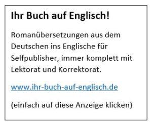 Ihr Buch auf Englisch