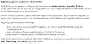 Beglaubigte Übersetzung in Oldenburg