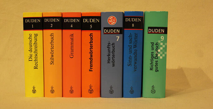 Proofreading and editing of German texts